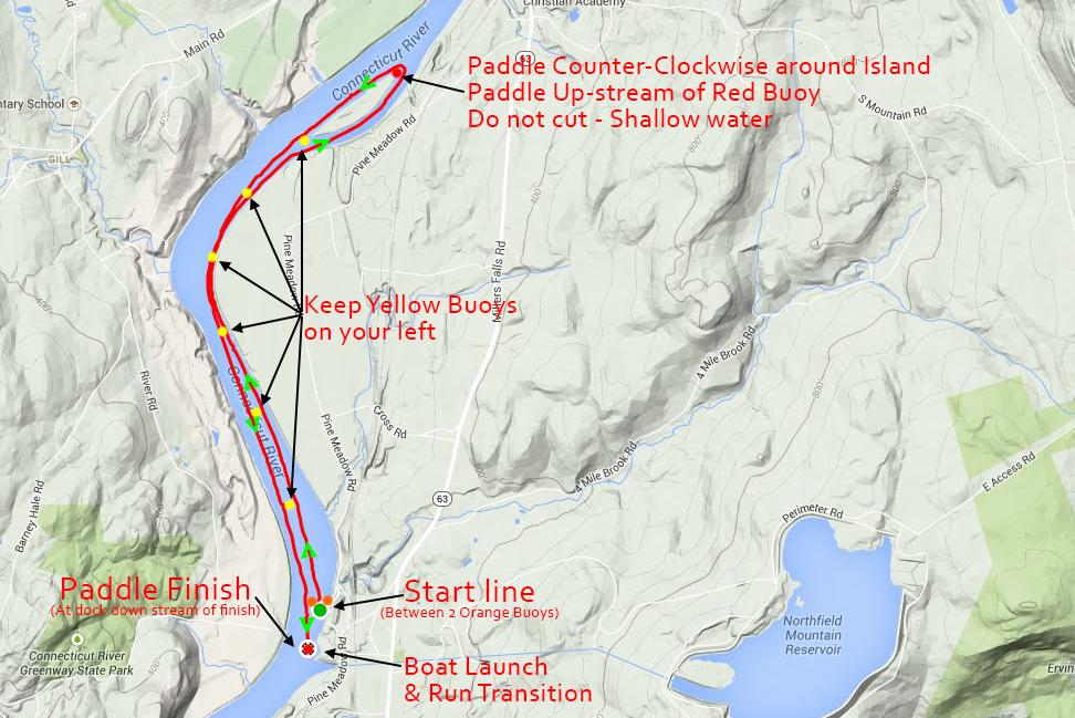 Paddle Map